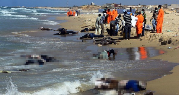 A boat carrying 70 people, all of them Ethiopians, drown off the Yemen's al-Makha port. R.I.P