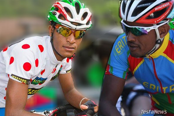 African household name Natnael Berhane and rising super star Mekseb Debesay are among the five finalists to be named the 2014 African Cyclist of the Year