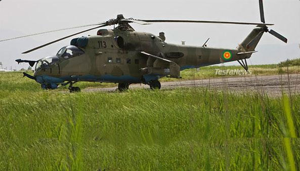 Media reports alleged that four pilots in an airbase in eastern Ethiopia had defected to Kenya. (Photo: MI-35 Helicopter gunship)