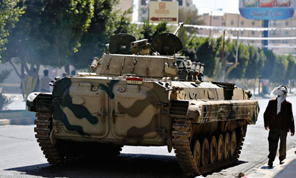 Security in Sana'a continues to unravel with street battles