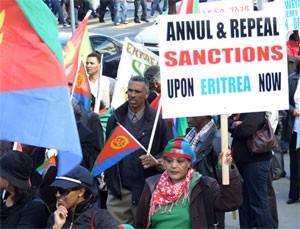 Eritrea Merita l'incoraggiamento e il positivo coinvolgimento , sicuramente non sanzioni sulla base di menzogne.