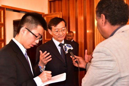 Chinese Vice Foreign Minister Visits Eritrea