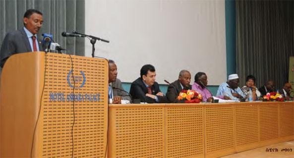International Symposium of the Organization of African Trade Union Unity (OATUU) is underway in Asmara