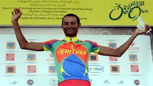 Amanuel Gerezgiher Eyeing Another Win in the International Tour de Constantine