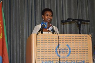 Ms. Christine Umutoni, UNDP Eritrea Resident Representative