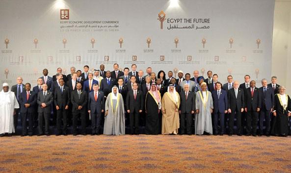 FM Osman participating at the Egypt Economic Development Conference in Sharm El-Sheikh