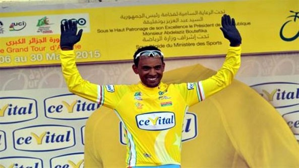 Eritrean Mekseb Debesay Wins Stage 5  Critérium International de Sétif
