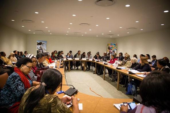 """""""Eritrea stands number one in effective community participation"""" - Dr. Dan Odallo, UNFP Representative in Eritrea"""