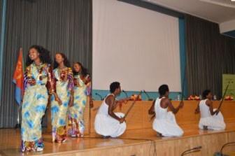 Eritrean Traditional Dancers at the Symposium