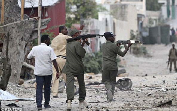 Mogadishu Hotel Siege Ends with 20 Dead