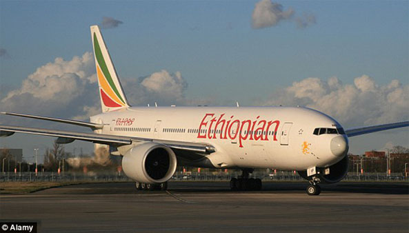 Non-stop flight from China to Ethiopia forced to land twice