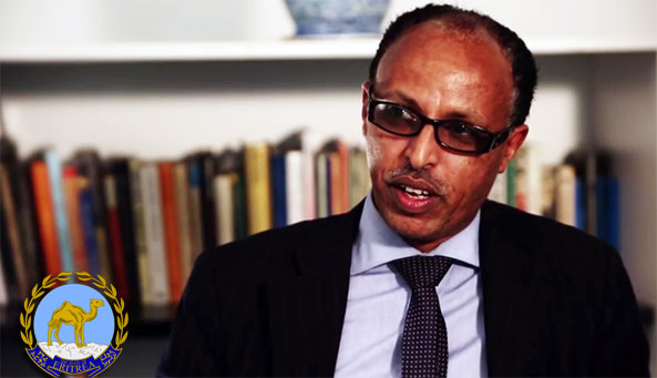 Mr. Suleman Hasen, Head of the Consular Affairs at the Eritrean Embassy in London
