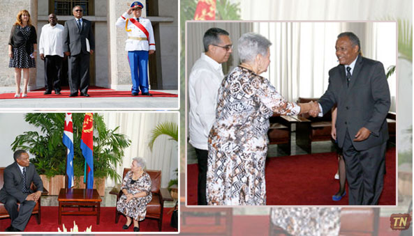 Eritrea Appoints New Ambassador to Cuba