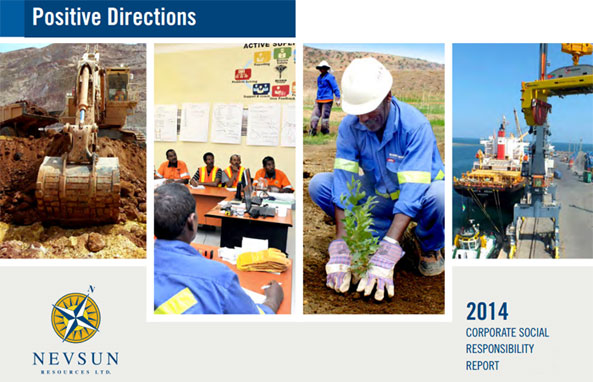 Nevsun's Corporate Social Responsibility 2014