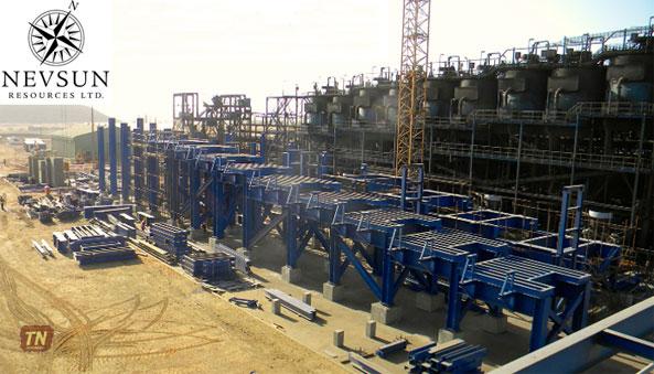 Nevsun Provides Update on its $92m Zinc Expansion Project