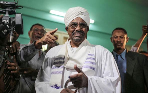 President Omar al-Bashir wins Sudan elections by a landslide