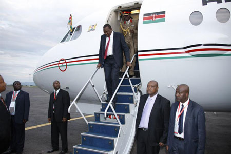 Eritrea Denies It Barred President Uhuru's Jet from Its Airspace
