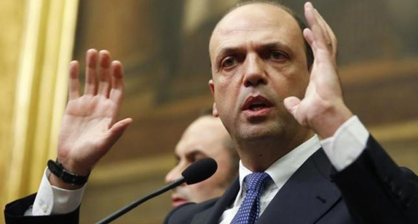 Angelino Alfano said migrants to work without pay