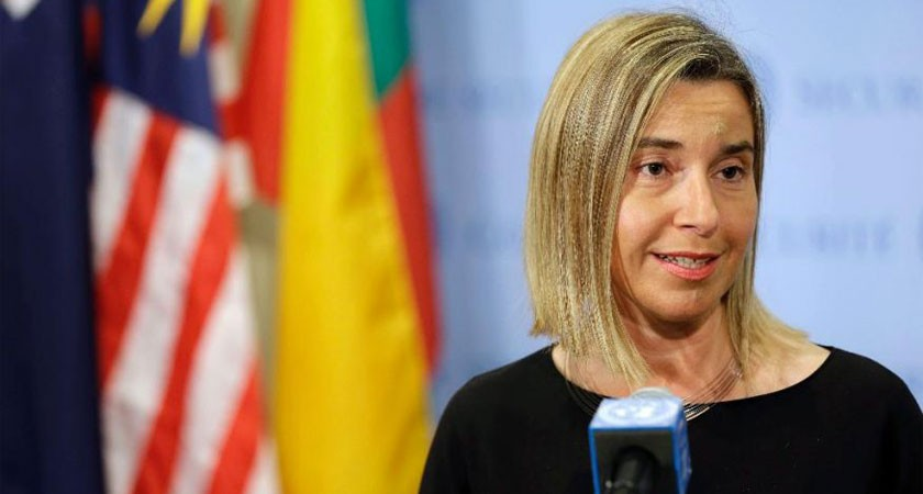 Federica Mogherini: European Union is finally ready to take its own responsibilities
