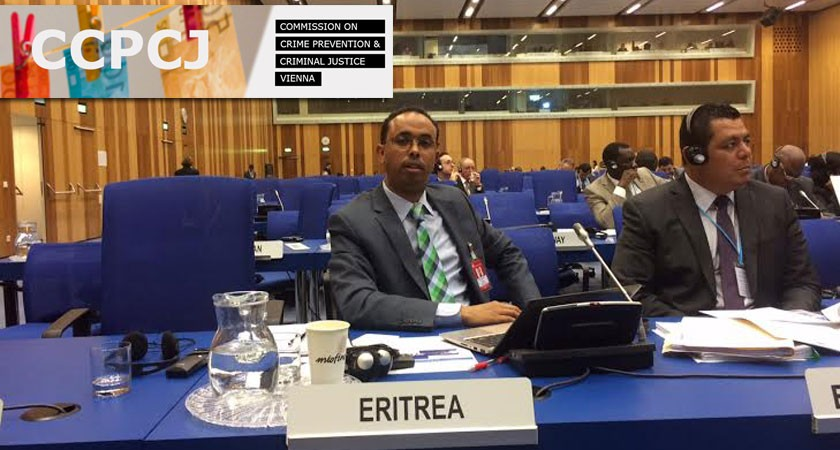 Eritrea Participated at the 24th Session of the UN CCPCJ