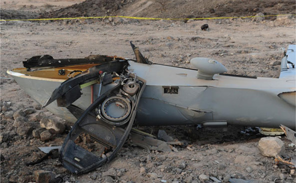 drone crash Camp Lemonnier in Djibouti