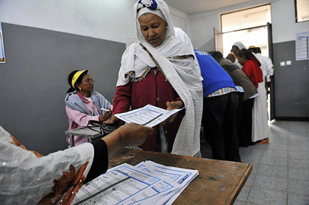 "In Ethiopia, ""elections"" are not about people's rule but about ruling people."