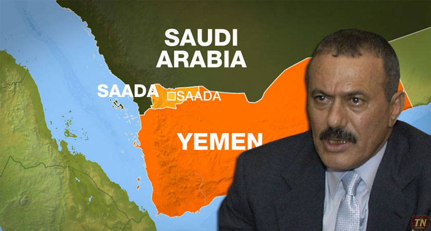 Former Yemeni President Saleh Declares Alliance with Houthis