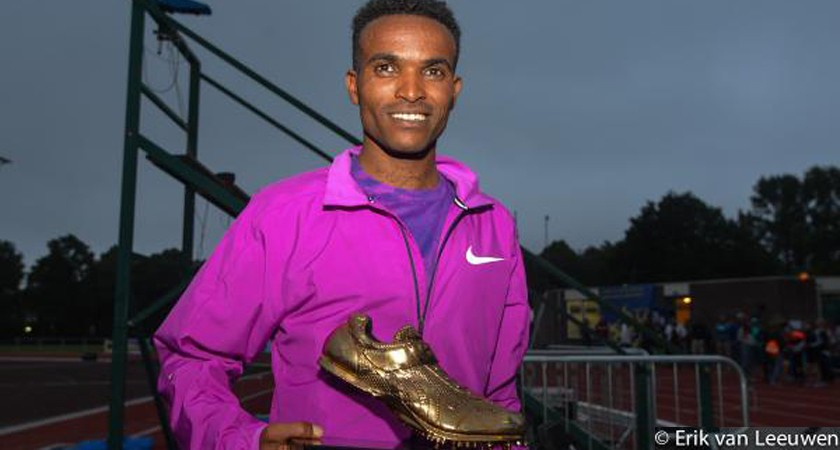 Leiden: Golden Spike to Eritrean Abrar Osman
