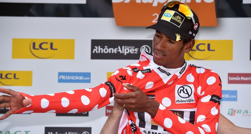#Dauphine Stage-2: Teklehaimanot Extends Lead in Mountains Classification