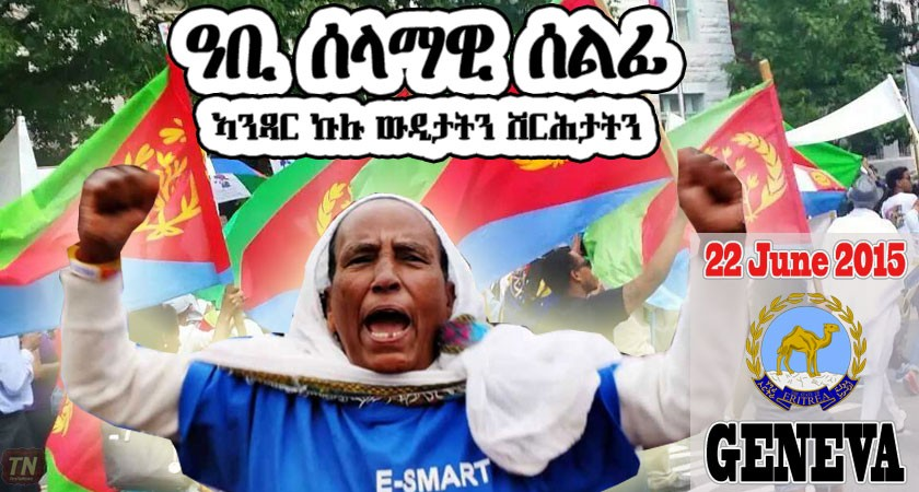 Europe Wide Demonstration Against the UN Commission Report on Human Rights Situation in Eritrea
