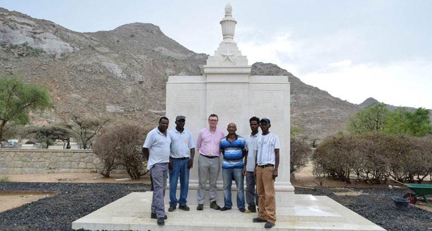 World War II Memorial to the Dead Indian Soldiers in Eritrea Restored