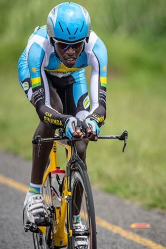 Valens Ndayisenga wants to emulate Eritrean riders