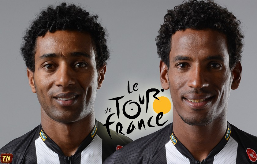 Daniel Teklehaimanot will be the FIRST rider to start the 2015 Tour de France Time Trial (TT) today