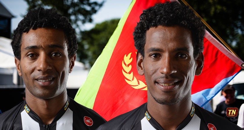 Teklehaimanot and Kudus are part of tour's first African team and the first Eritreans to ride the race.
