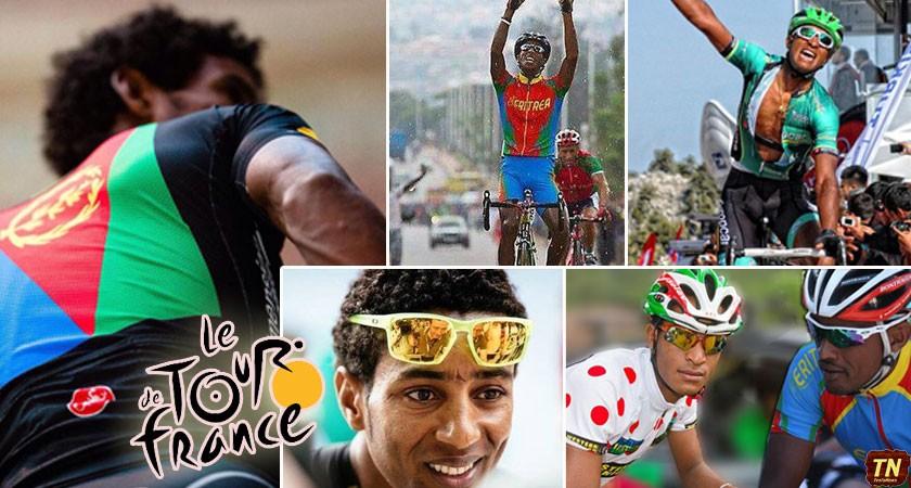 Pedaling History: Eritrea's Teklehaimanot and Kudus in Tour de France