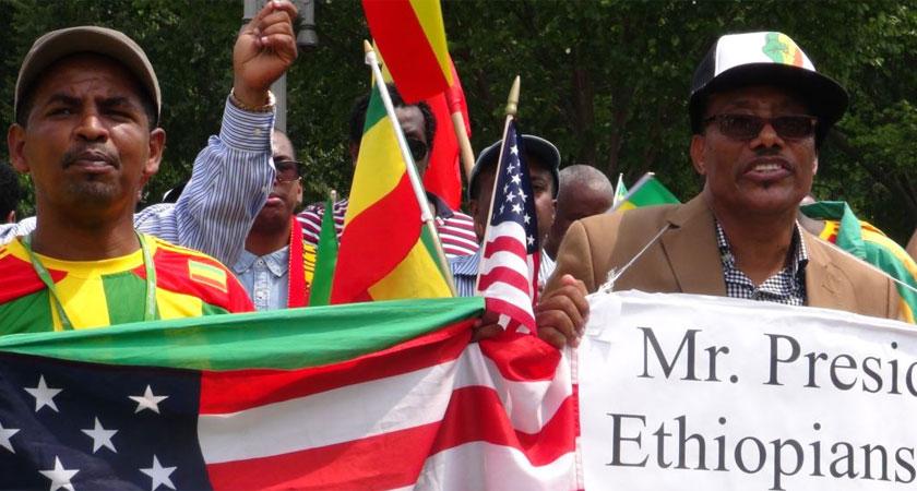 Ethiopians Protest Obama's Trip to Ethiopia