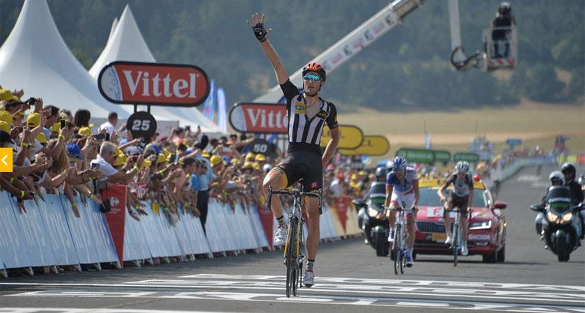 MTN-Qhubeka Wins Stage #14 of the Tour de France