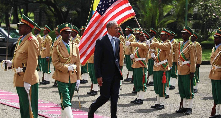 Obama Accused of Human Rights Hypocrisy on Ethiopia Visit