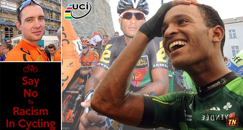 Say NO to Racism in Cycling