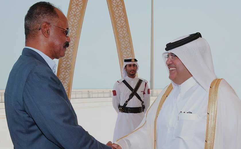 President Isaias in Doha for a working visit