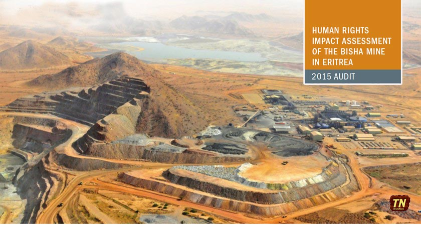 Human Rights Impact Assessment of the Bisha Mine in Eritrea: Audit 2015
