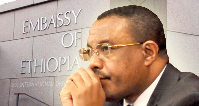 Diplomats at key embassies across the world disown the Ethiopian regime