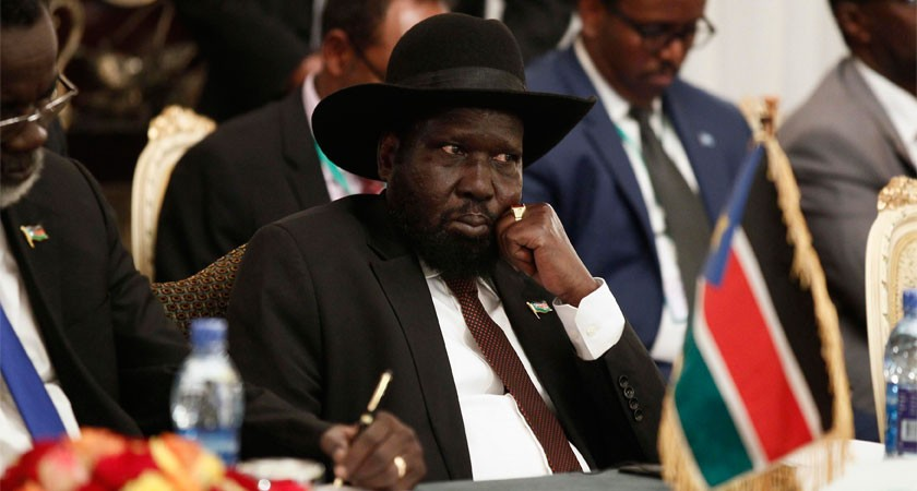 South Sudan's Kiir Signs Peace Deal Despite Reservations