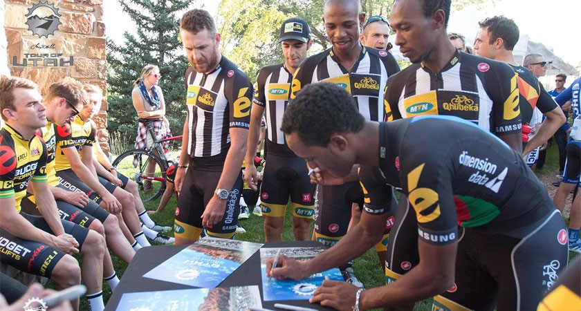 Natnael Berhane to lead MTN-Qhubeka at Tour of Utah