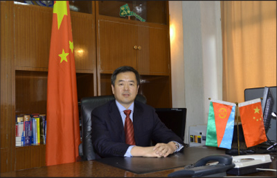 Qiu Xuejun, China's Ambassador to Eritrea
