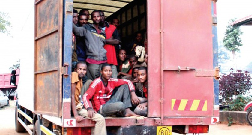 100 Ethiopian Migrants Found Hidden in Track: Zambia Police