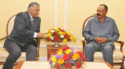 India invites President Isaias for Africa forum summit in New Delhi