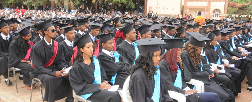 Eritrea developed educational policy on top priority of national development
