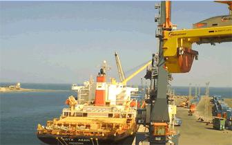 Rotainer Crane at Massawa