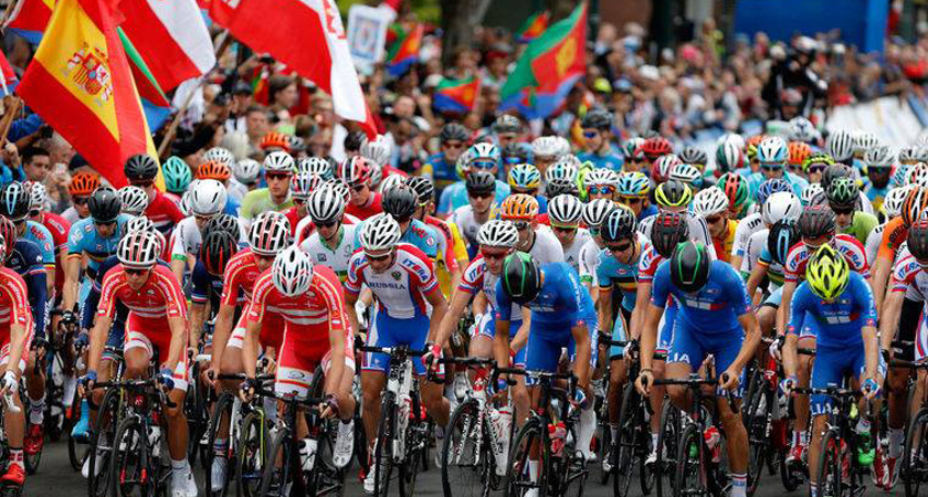 Eritrean Riders and Fans Making History at UCI World Championship in Richmond